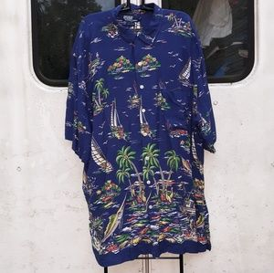 Ralph Lauren Polo Beach Shirt size 2XLT